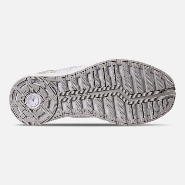 Bottom view of Women's Under Armour HOVR Sonic Running Shoes in Grey/White