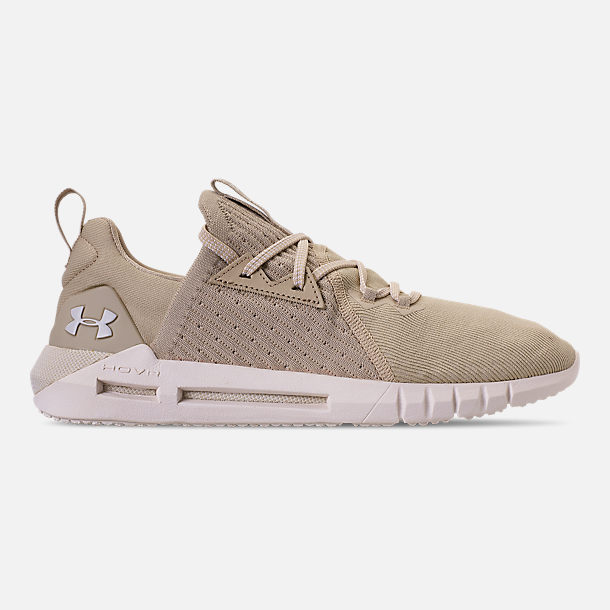 Right view of Men's Under Armour HOVR SLK EVO Running Shoes in Khaki Base/ Onyx White/Summit White