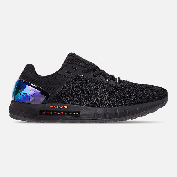 Right view of Men's Under Armour HOVR Sonic 2 Running Shoes in Black/Mango Orange/Papaya