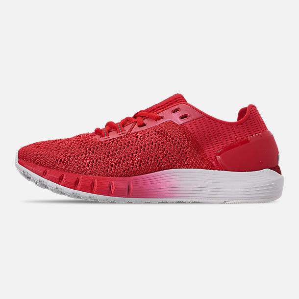 Left view of Men's Under Armour HOVR Sonic 2 Running Shoes in Barn/Onyx White/Barn
