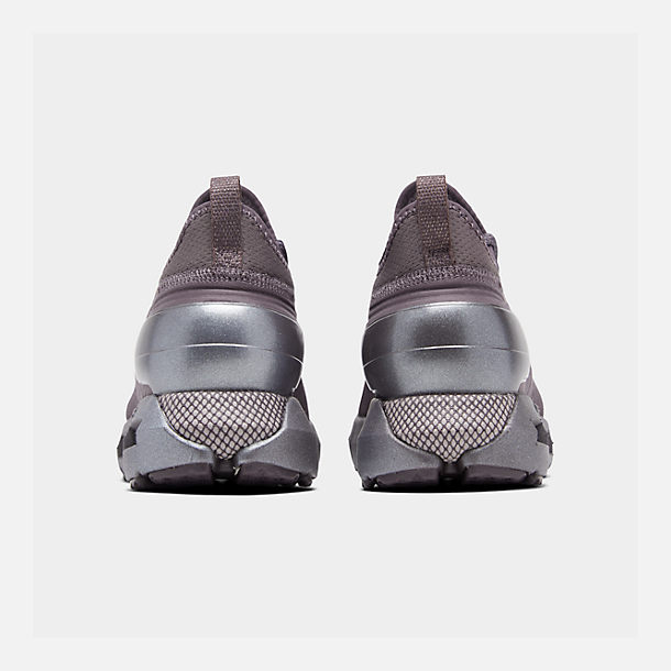 Left view of Women's Under Armour HOVR Phantom SE Running Shoes in Ash Taupe/Ash Taupe/Metal