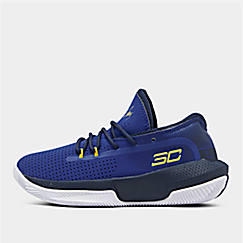 Little Kids' Under Armour SC 3ZER0 III Basketball Shoes