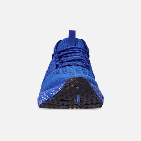 Front view of Men's Under Armour HOVR Phantom Connected Runnning Shoes in Royal/White
