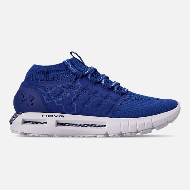 92379940dec5 Right view of Men s Under Armour Project Rock HOVR Phantom Running Shoes in  Royal White