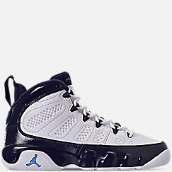 Big Kids' Air Jordan Retro 9 Basketball Shoes