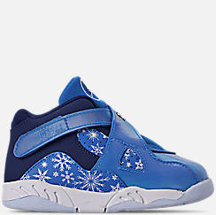 Kids' Toddler Air Jordan Retro 8 Basketball Shoes