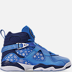 Big Kids' Air Jordan Retro 8 Basketball Shoes