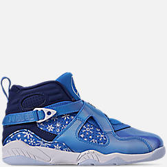 Little Kids' Air Jordan Retro 8 Basketball Shoes