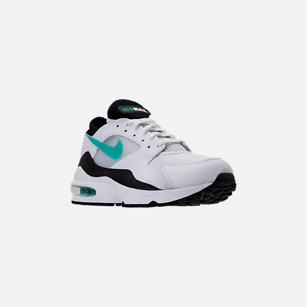 Three Quarter view of Men's Nike Air Max 93 Casual Shoes