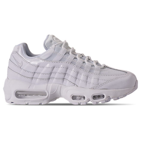 WOMEN'S AIR MAX 95 CASUAL SHOES, WHITE