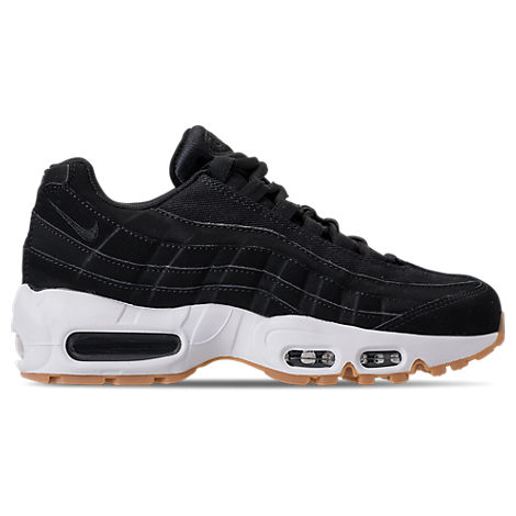 WOMEN'S AIR MAX 95 RUNNING SHOES, BLACK