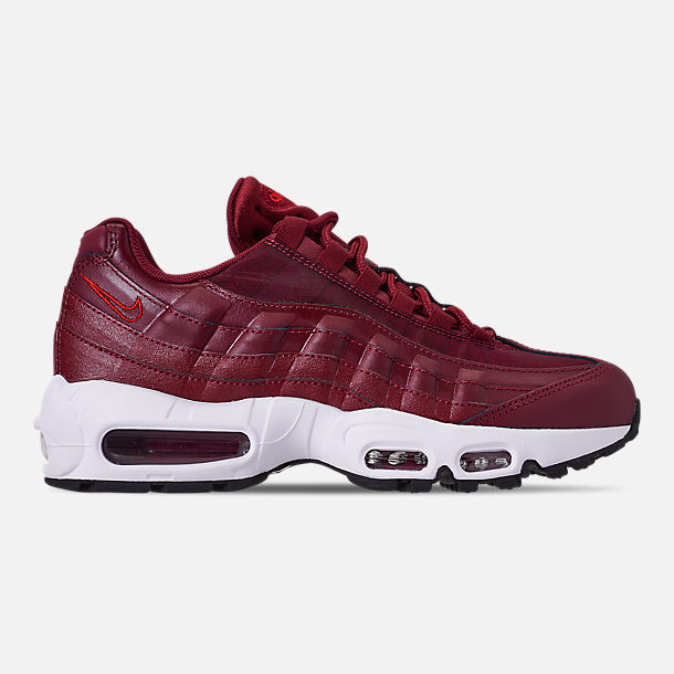 new concept c4961 79461 Right view of Women s Nike Air Max 95 Casual Shoes in Team Red Black