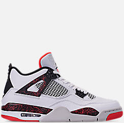 buy popular 4fa6a 58af8 Men s Air Jordan Retro 4 Basketball Shoes