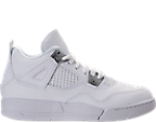 Boys' Preschool Jordan Retro 4 Basketball Shoes