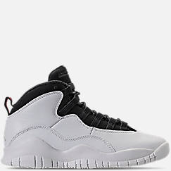 Kids' Grade School Air Jordan Retro 10 Basketball Shoes