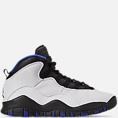 Big Kids' Air Jordan Retro 10 Basketball Shoes