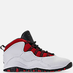Little Kids' Air Jordan Retro 10 Basketball Shoes