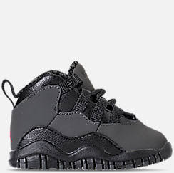 Kids' Toddler Air Jordan Retro 10 Basketball Shoes