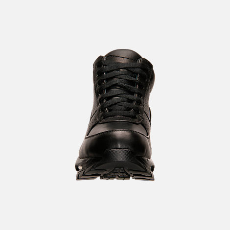 Front view of Kids' Nike Air Goadome Boots in Black