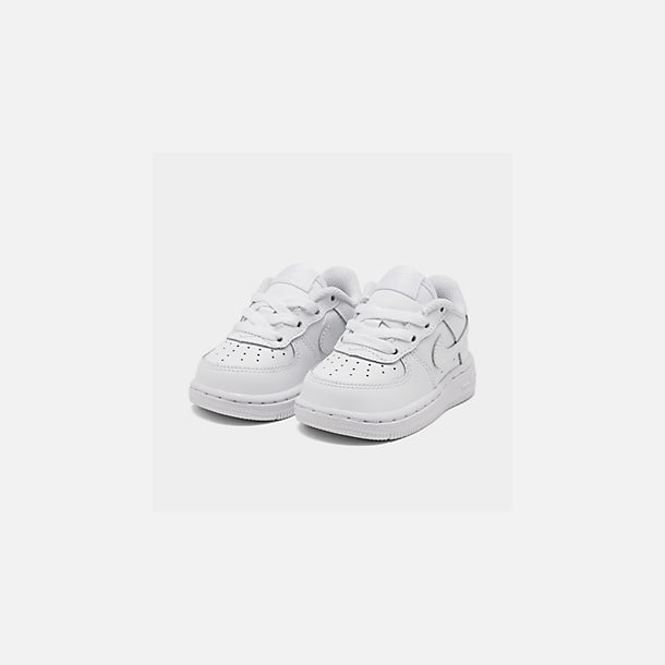 detailed look 2586c afc07 Three Quarter view of Kids  Toddler Nike Air Force 1 Low Casual Shoes in  White