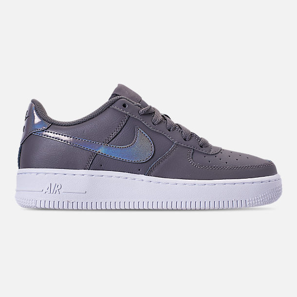 Right view of Girls' Grade School Nike Air Force 1 Low Casual Shoes