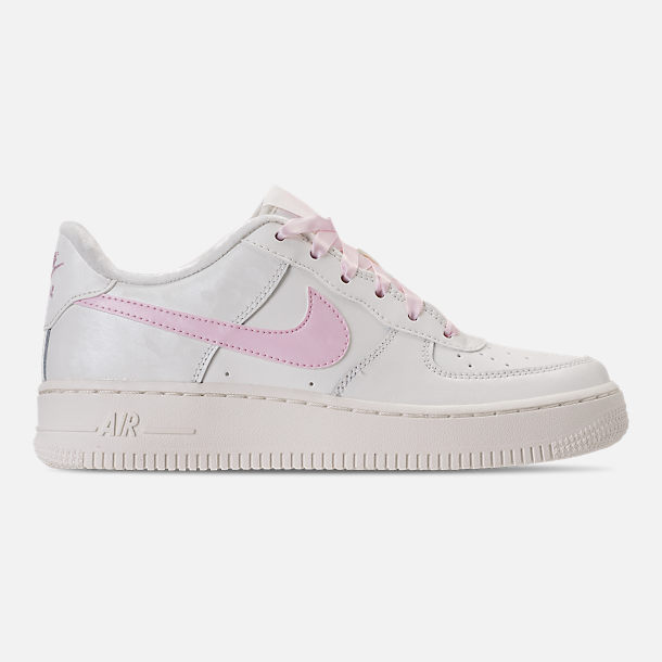 Nike Air Force 1 LV8 Girls Running Shoes White/Pink rM4512X