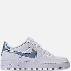 Girls' Grade School Nike Air Force 1 Low Casual Shoes