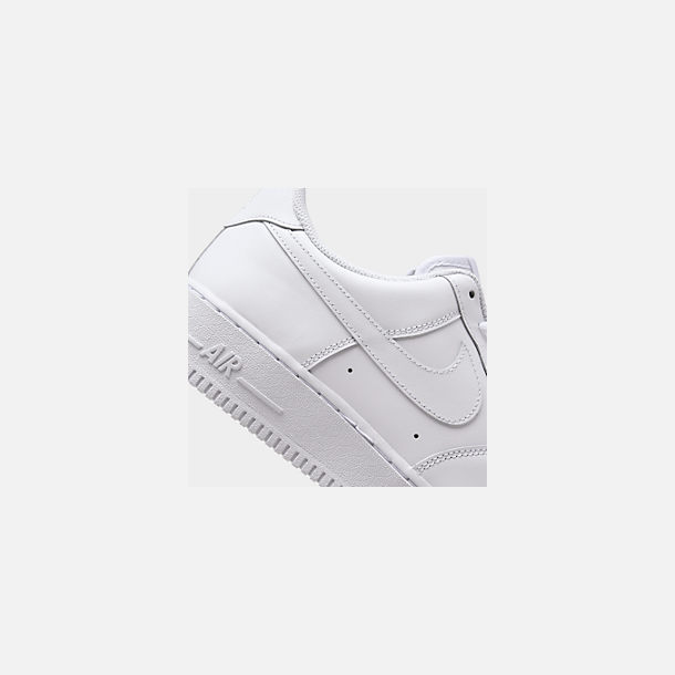 reputable site 8e88f 92211 Front view of Men s Nike Air Force 1 Low Casual Shoes in White White