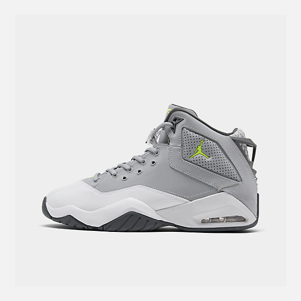huge selection of d1c64 71137 Right view of Men s Jordan B Loyal Basketball Shoes in Wolf Grey Volt