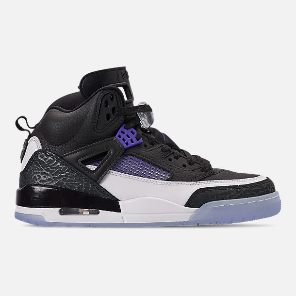f6f67135ef34 Right view of Men s Air Jordan Spizike Off-Court Shoes in Black Dark Concord