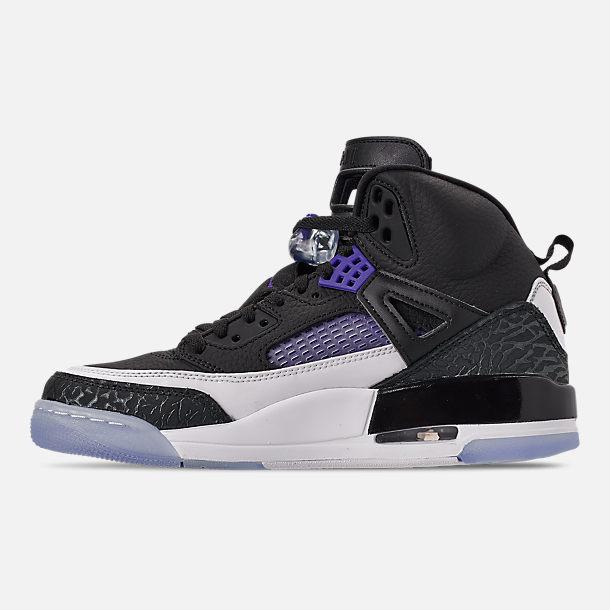 5765390c975607 Left view of Men s Air Jordan Spizike Off-Court Shoes in Black Dark Concord