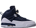 Midnight Navy/Metallic Silver/White