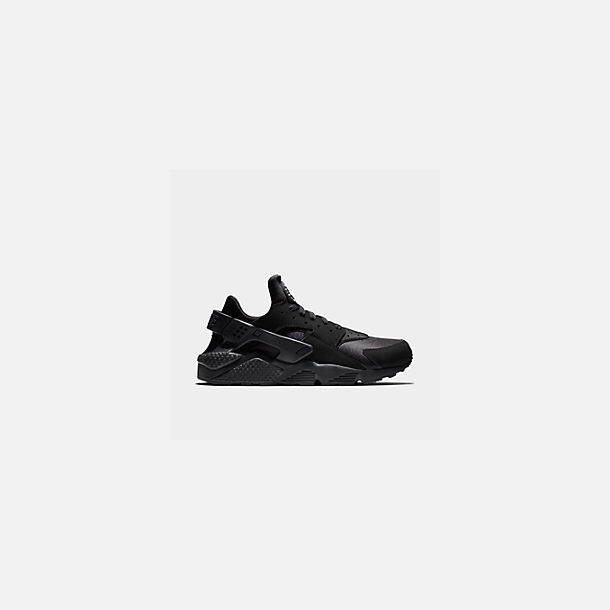 best website 06c0d 141ba Front view of Men s Nike Air Huarache Run Casual Shoes in Black Black White