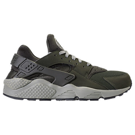 dea930e217567 Nike Men S Air Huarache Run Running Sneakers From Finish Line In Green