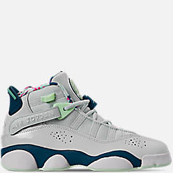 online store 6aaca cd317 Girls  Big Kids  Jordan 6 Rings Basketball Shoes