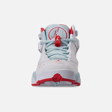 c173b3eca9f5 Front view of Girls  Big Kids  Jordan 6 Rings Basketball Shoes in White
