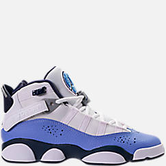Girls' Grade School Jordan 6 Rings (3.5y-9.5y) Basketball Shoes