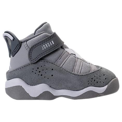 4db3307ae97722 Shop Nike Boys  Toddler Air Jordan 6 Rings Basketball Shoes