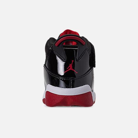 de1dcd6190a2 Back view of Boys  Toddler Air Jordan 6 Rings Basketball Shoes in Black  Varsity