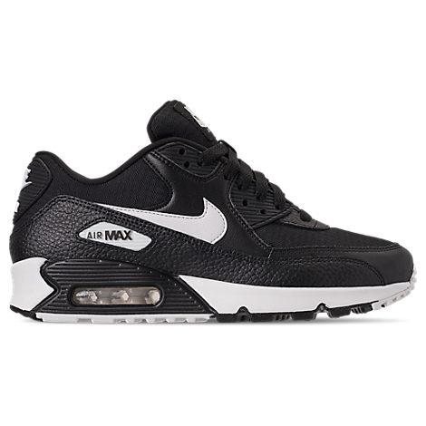 hot sale online e6b32 a5cc1 Nike Women S Air Max 90 Casual Shoes, Black