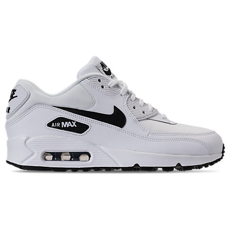 af808c5f92fba NIKE WOMEN'S AIR MAX 90 RUNNING SHOES, WHITE, WHITE/ BLACK | ModeSens