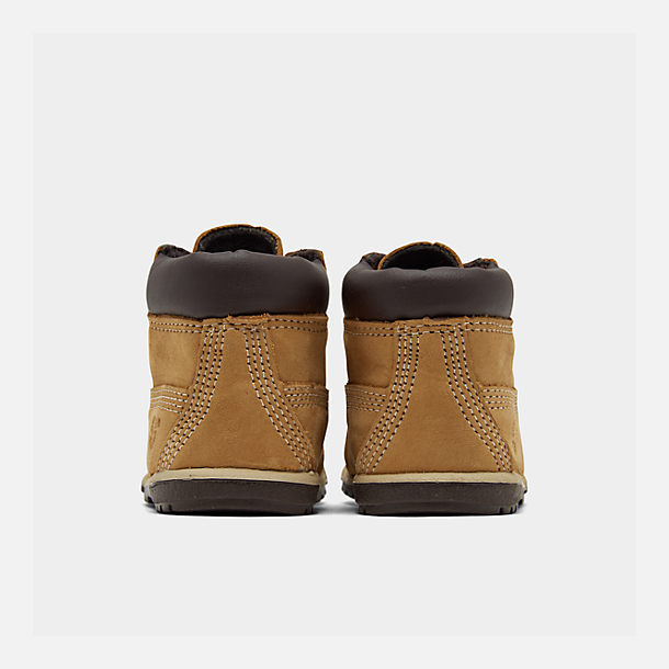 Left view of Infant Timberland 6 Inch Classic Boots in Wheat