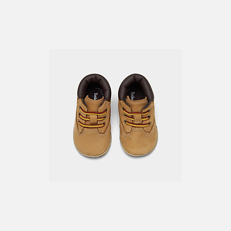 Back view of Infant Timberland 6 Inch Classic Boots in Wheat