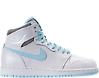 Girls' Grade School Air Jordan Retro 1 High (3.5y-9.5y) Basketball Shoes