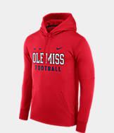 Men's Nike Mississippi Rebels College Therma Hoodie