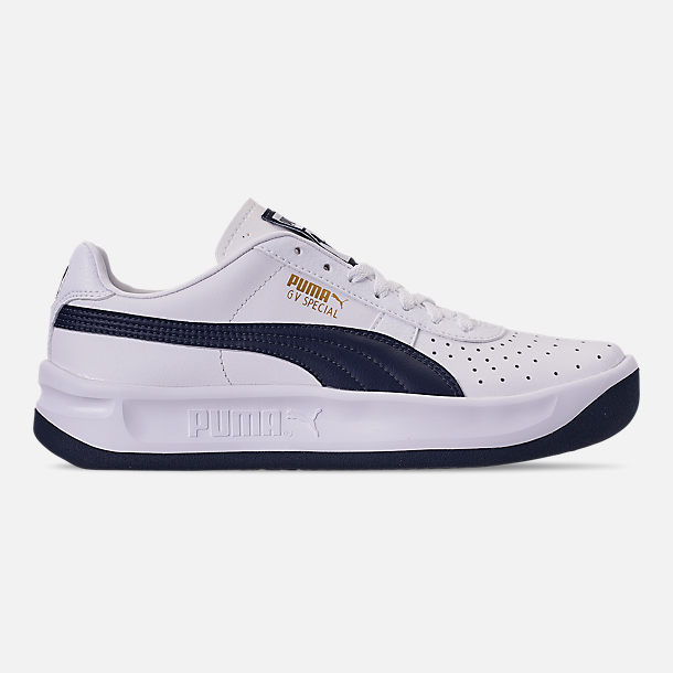 2a7745cd07f Right view of Boys  Big Kids  Puma The GV Special Casual Shoes in White