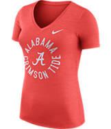 Women's Nike Alabama Crimson Tide College Dri-FIT Touch V-Neck T-Shirt