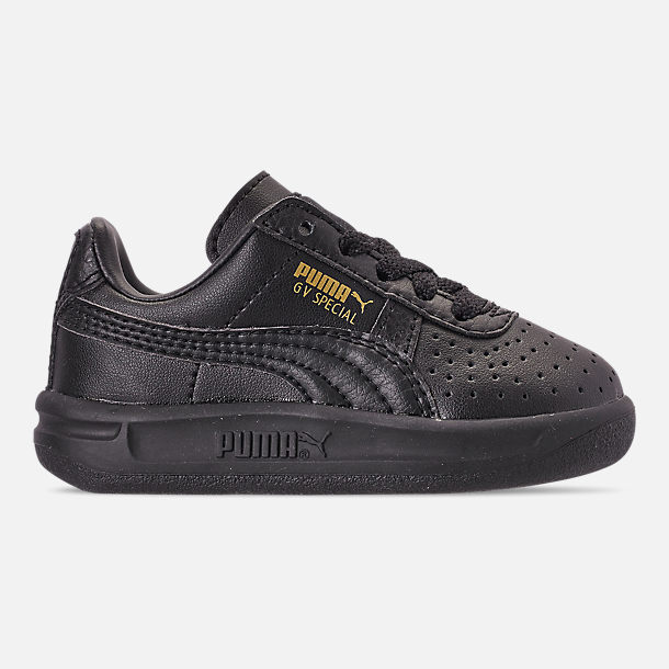 Right view of Boys' Toddler Puma The GV Special Casual Shoes in Black