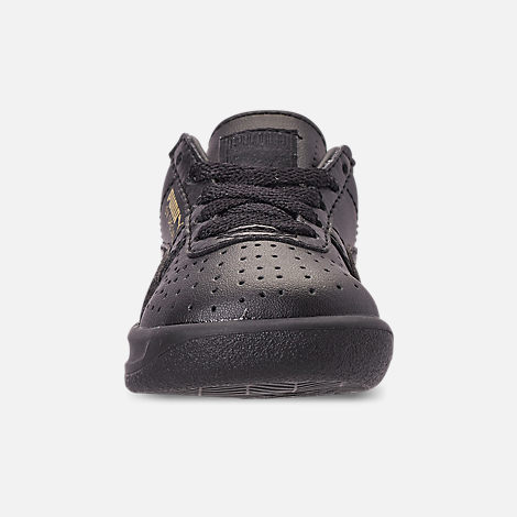 Front view of Boys' Toddler Puma The GV Special Casual Shoes in Black