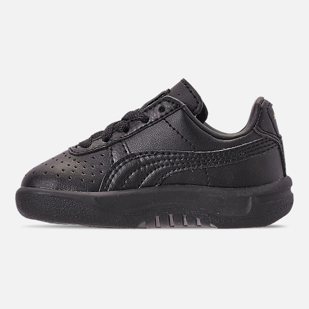 Left view of Boys' Toddler Puma The GV Special Casual Shoes in Black